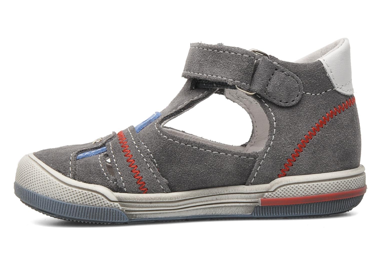Sandalen Bopy BARNY grau ansicht von vorne