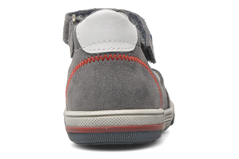 Sandales et nu-pieds Bopy BARNY Gris vue droite
