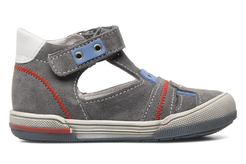 Sandalen Bopy BARNY grau ansicht von hinten