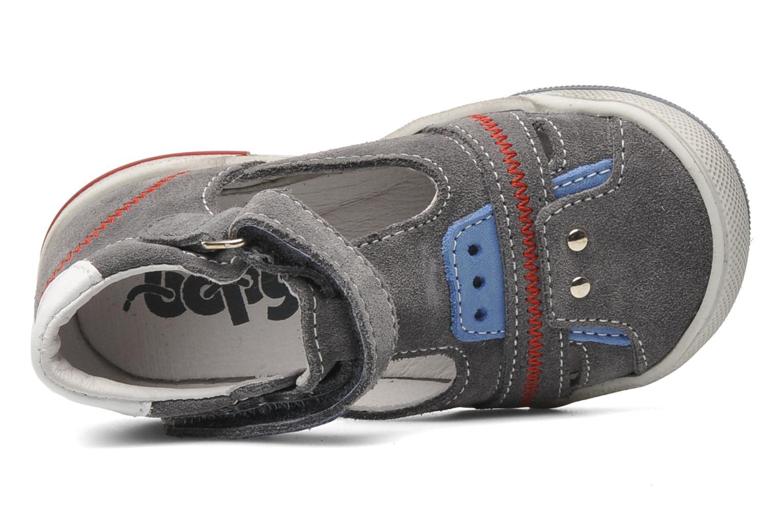 Sandales et nu-pieds Bopy BARNY Gris vue gauche