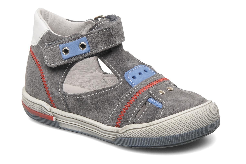 Sandales et nu-pieds Bopy BARNY Gris vue détail/paire