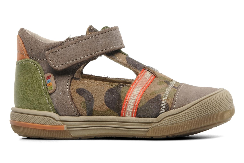 Sandales et nu-pieds Bopy BOMBER Marron vue derrière