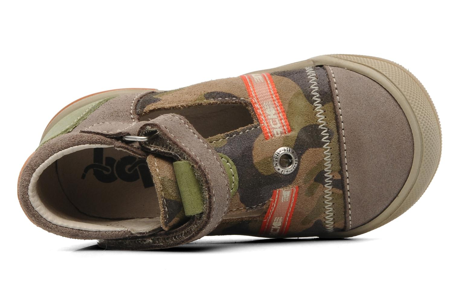 Sandals Bopy BOMBER Brown view from the left