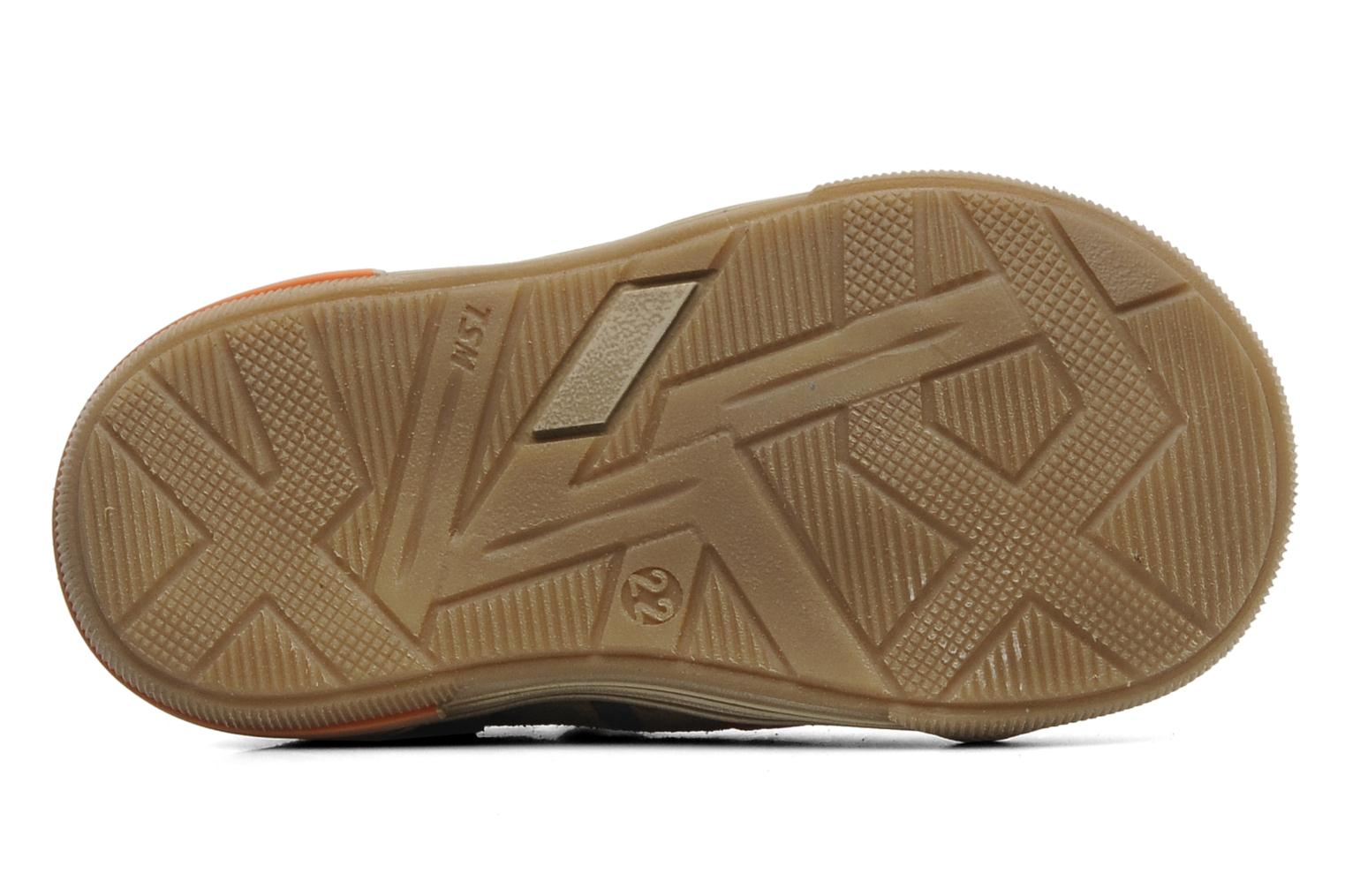 Sandals Bopy BOMBER Brown view from above