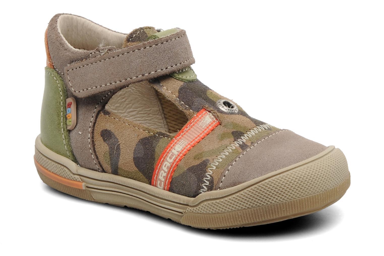 Sandales et nu-pieds Bopy BOMBER Marron vue détail/paire