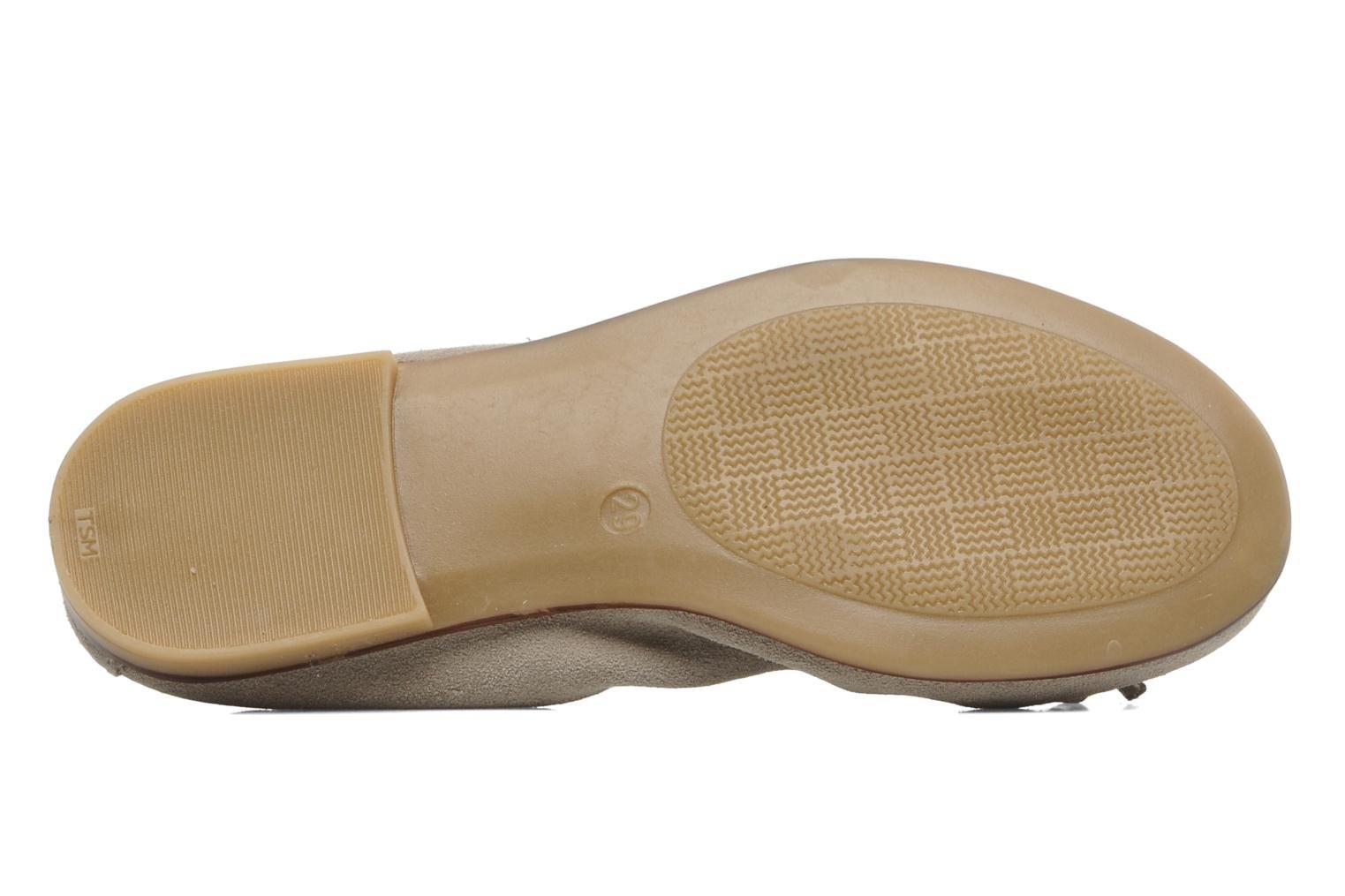 Ballet pumps Bopy SACOUR Beige view from above