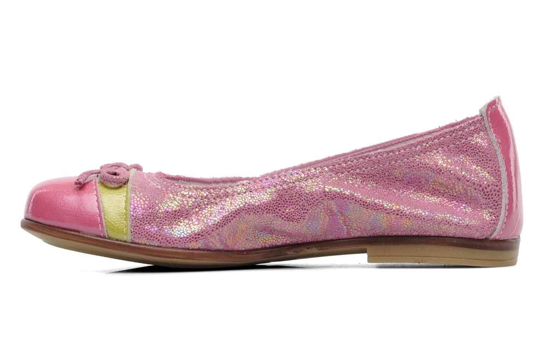 Ballerinas Bopy SAPLANE rosa ansicht von vorne