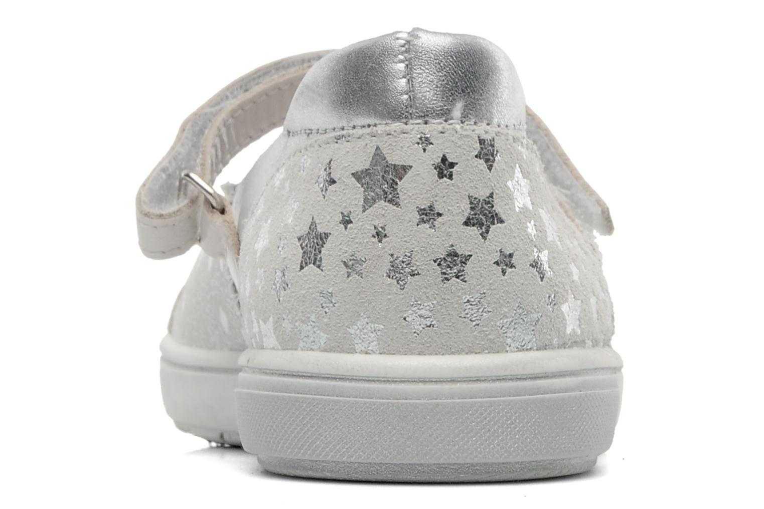 Ballet pumps Bopy SPOKY Silver view from the right