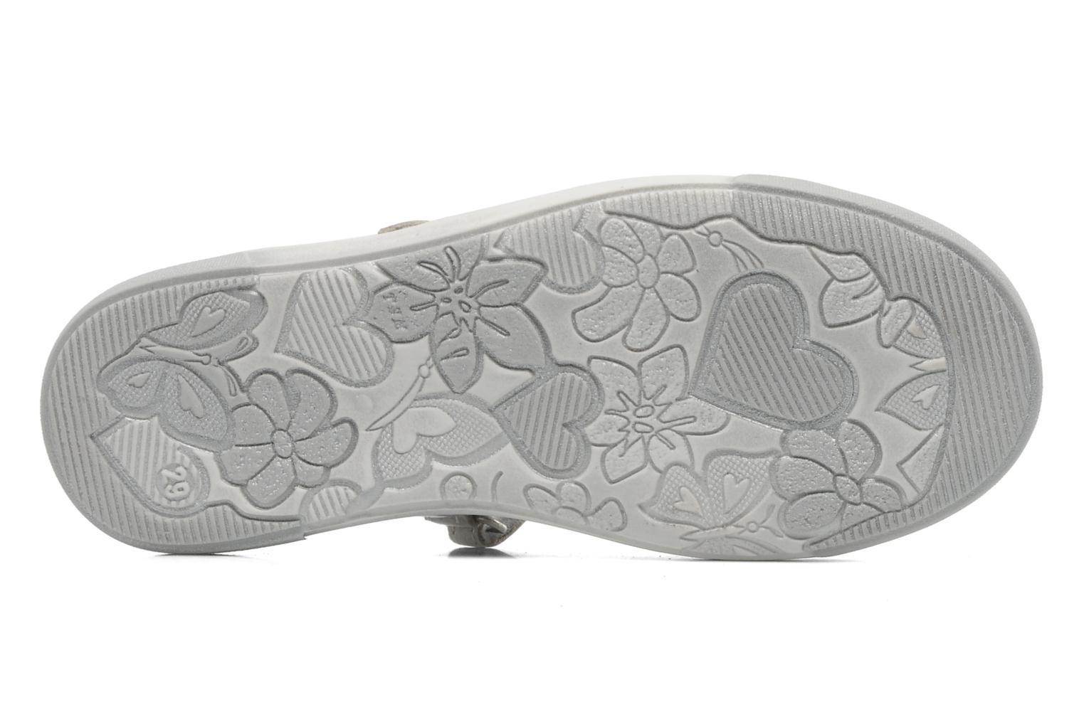 Ballet pumps Bopy SPOKY Silver view from above