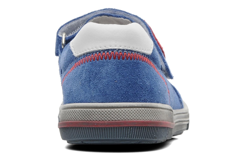 Baskets Bopy VARNY Bleu vue droite