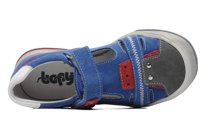 Baskets Bopy VARNY Bleu vue gauche