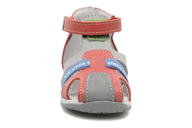Sandales et nu-pieds Bopy ZADRIEN Rouge vue portées chaussures