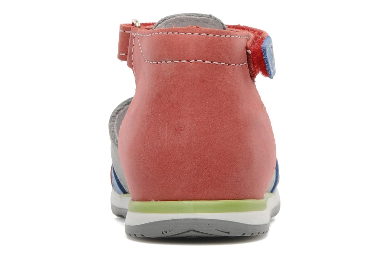 Sandalen Bopy ZADRIEN rot ansicht von rechts