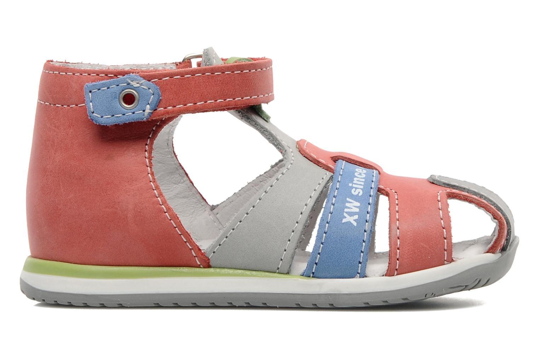 Sandales et nu-pieds Bopy ZADRIEN Rouge vue derrière