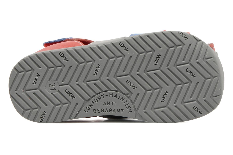 Sandales et nu-pieds Bopy ZADRIEN Rouge vue haut