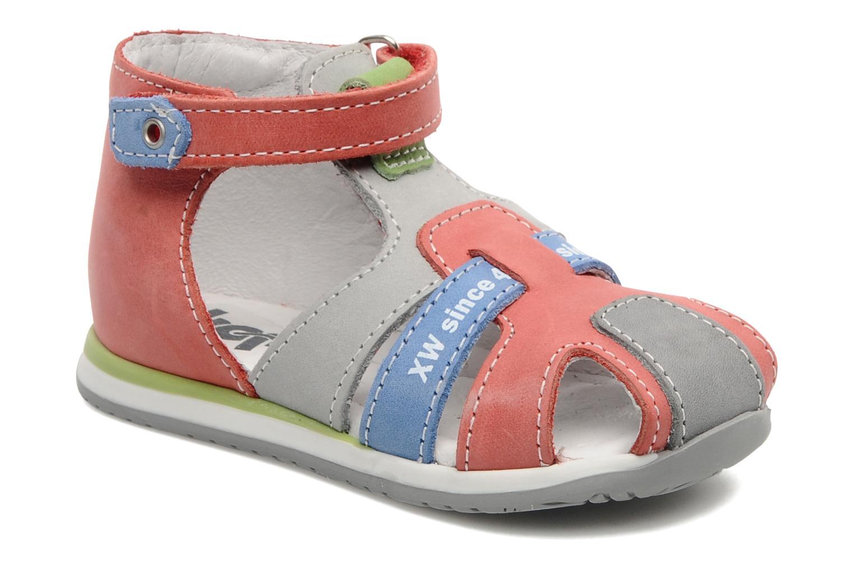 Sandales et nu-pieds Bopy ZADRIEN Rouge vue détail/paire