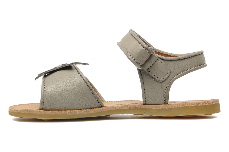 Sandales et nu-pieds Bisgaard Grie Gris vue face