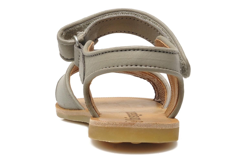 Sandales et nu-pieds Bisgaard Grie Gris vue droite