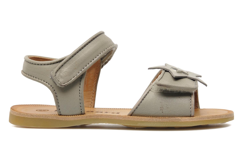 Sandales et nu-pieds Bisgaard Grie Gris vue derrière