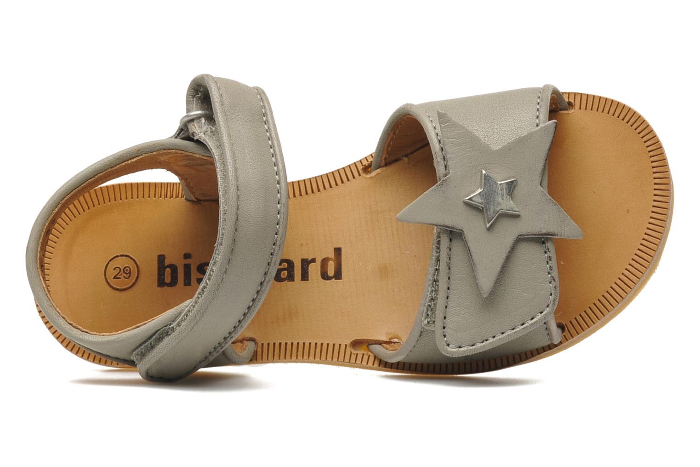 Sandales et nu-pieds Bisgaard Grie Gris vue gauche