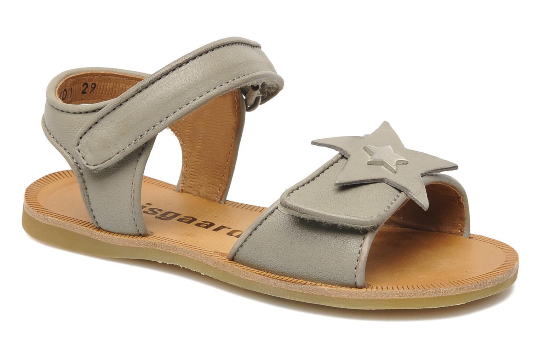 Sandales et nu-pieds Bisgaard Grie Gris vue détail/paire