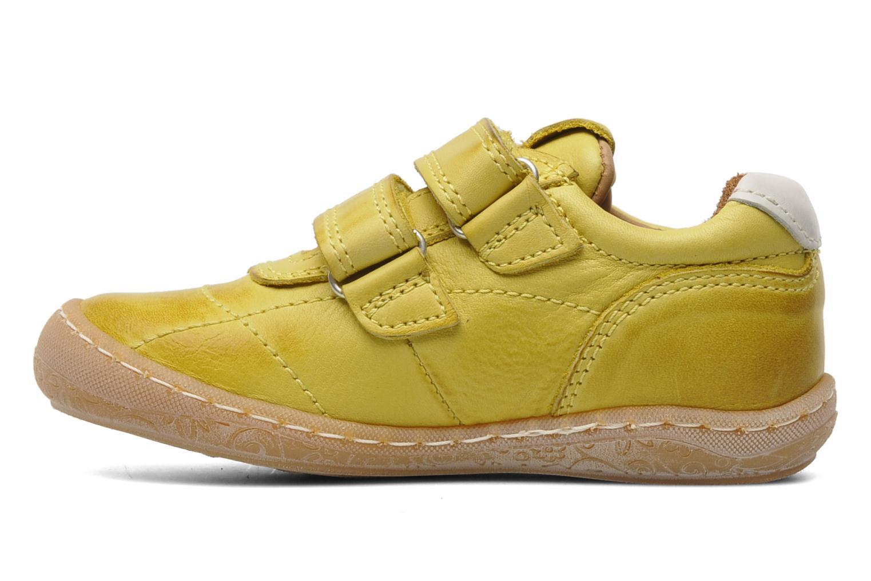 Sneakers Bisgaard Papoi Geel voorkant
