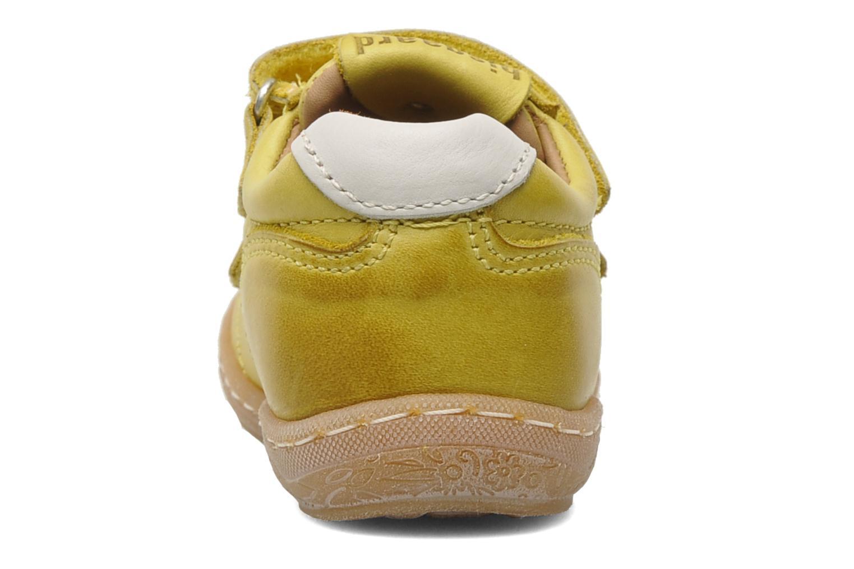 Sneakers Bisgaard Papoi Geel rechts