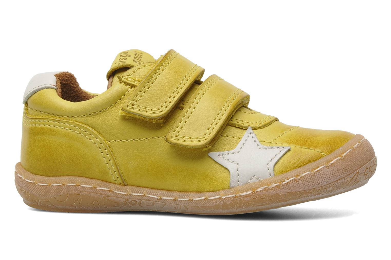 Sneakers Bisgaard Papoi Geel achterkant