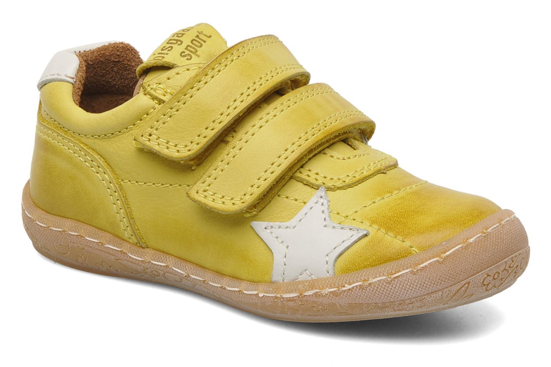 Sneakers Bisgaard Papoi Geel detail