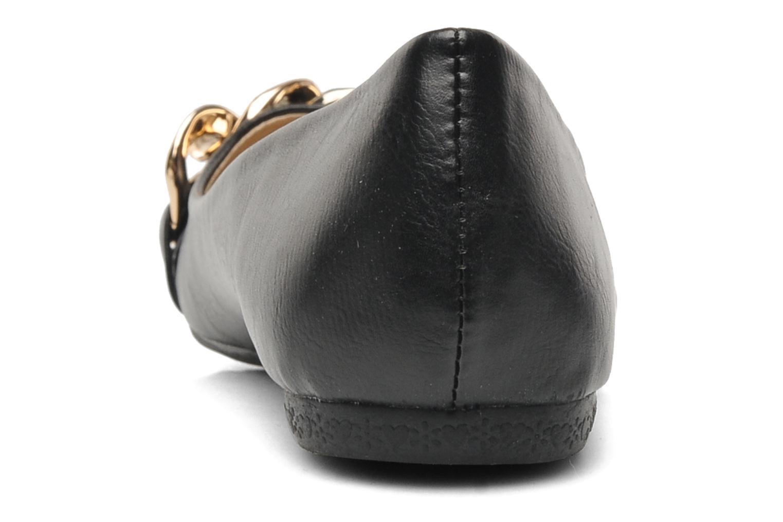 Ballerine Chaîne Noir