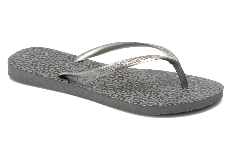 Slippers Havaianas Slim Animals Zilver detail