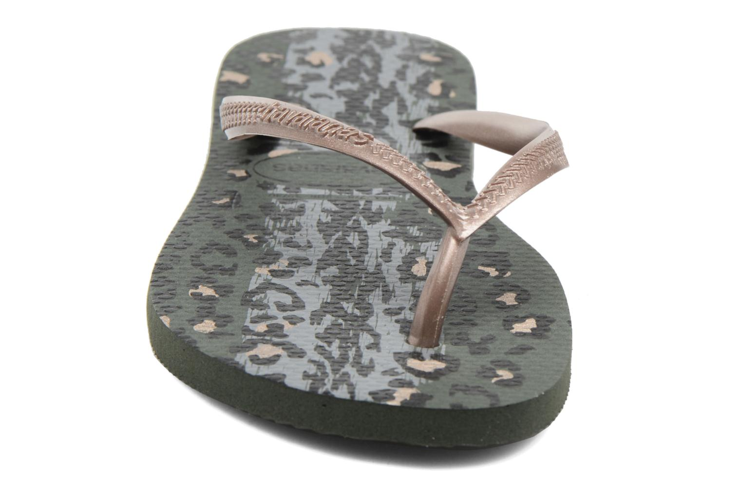 Slippers Havaianas Slim Animals Groen model