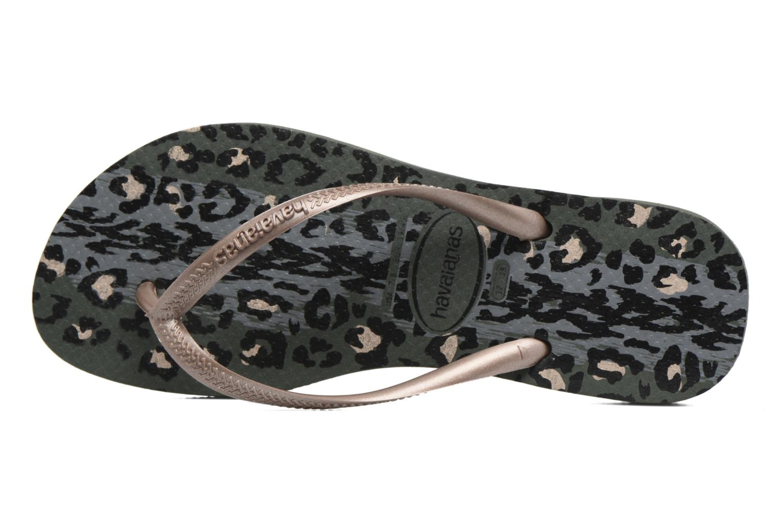 Slippers Havaianas Slim Animals Groen links
