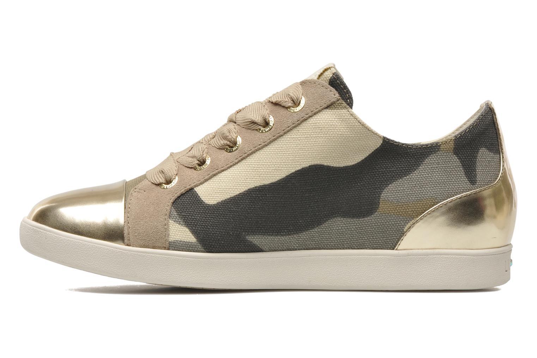 Sneakers Liu Jo Dafne Bassa Beige voorkant