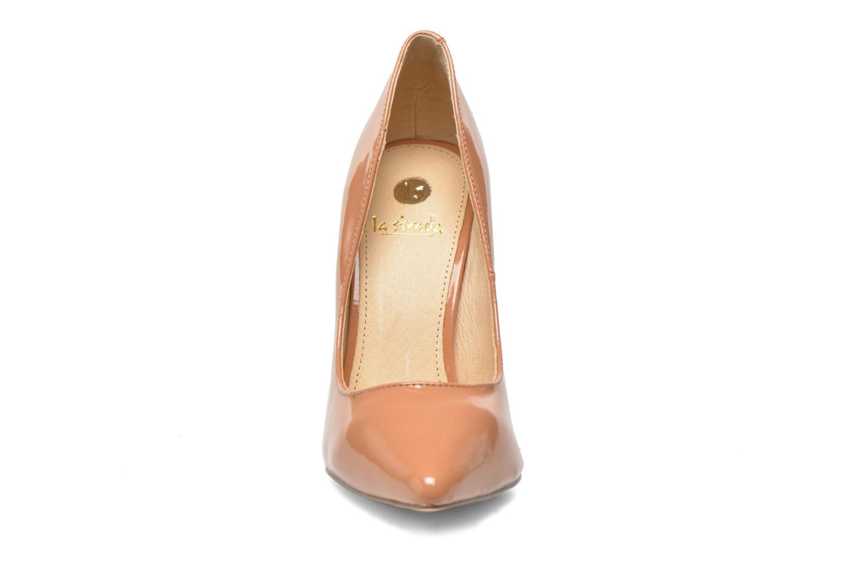 Escarpins La Strada Janie Beige vue portées chaussures