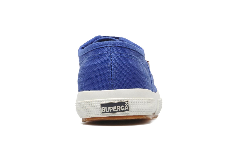 Baskets Superga 2750 J Cotu Classic Bleu vue droite