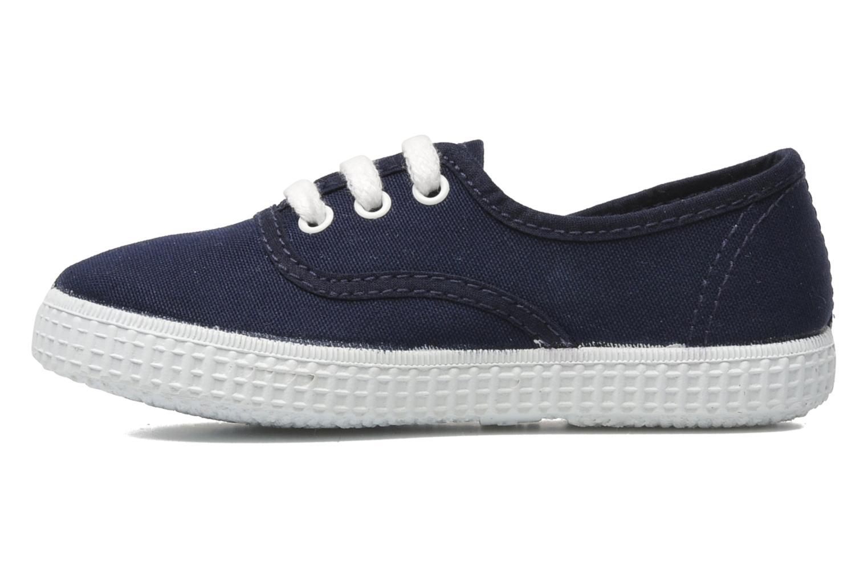 Sneakers Victoria Inglesa Lona Blauw voorkant