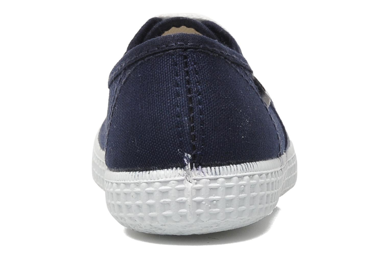 Sneakers Victoria Inglesa Lona Blå Bild från höger sidan