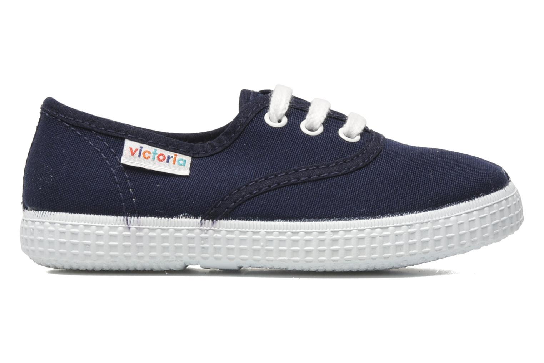 Sneakers Victoria Inglesa Lona Blå bild från baksidan