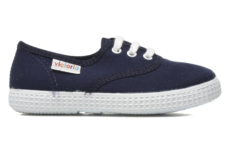 Sneakers Victoria Inglesa Lona Blauw achterkant