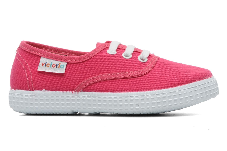 Sneakers Victoria Inglesa Lona Roze achterkant