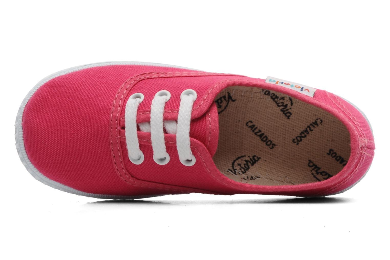 Sneakers Victoria Inglesa Lona Roze links