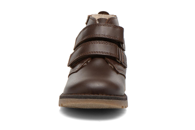 Schoenen met klitteband Aigle Dixon M Kid Fur Bruin model