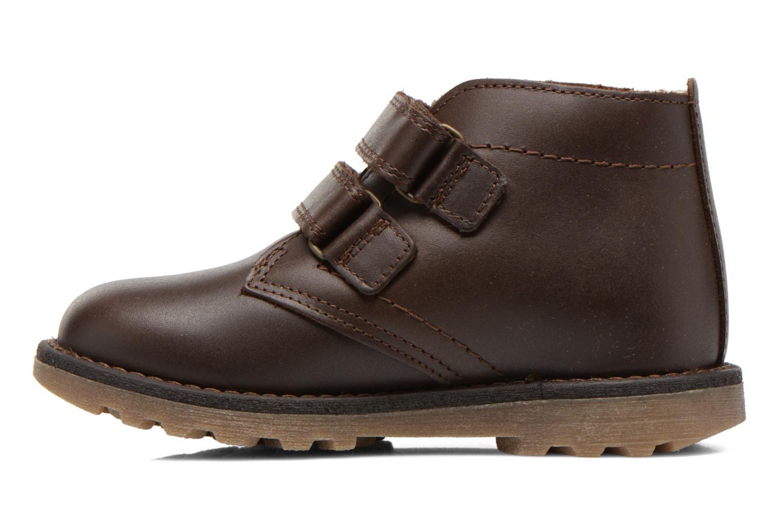 Schoenen met klitteband Aigle Dixon M Kid Fur Bruin voorkant