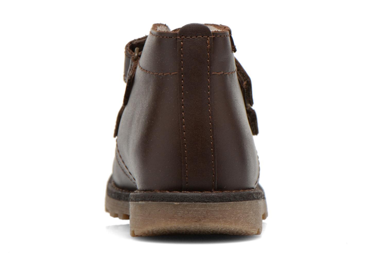 Schoenen met klitteband Aigle Dixon M Kid Fur Bruin rechts