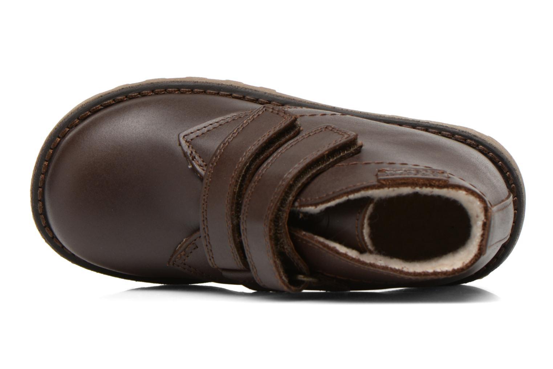 Schoenen met klitteband Aigle Dixon M Kid Fur Bruin links