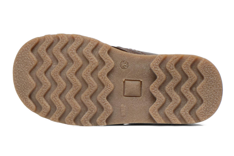 Schoenen met klitteband Aigle Dixon M Kid Fur Bruin boven
