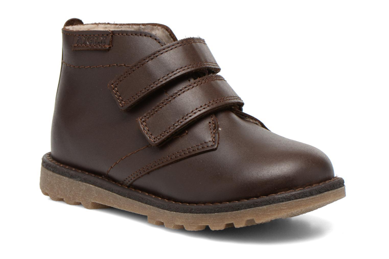 Schoenen met klitteband Aigle Dixon M Kid Fur Bruin detail