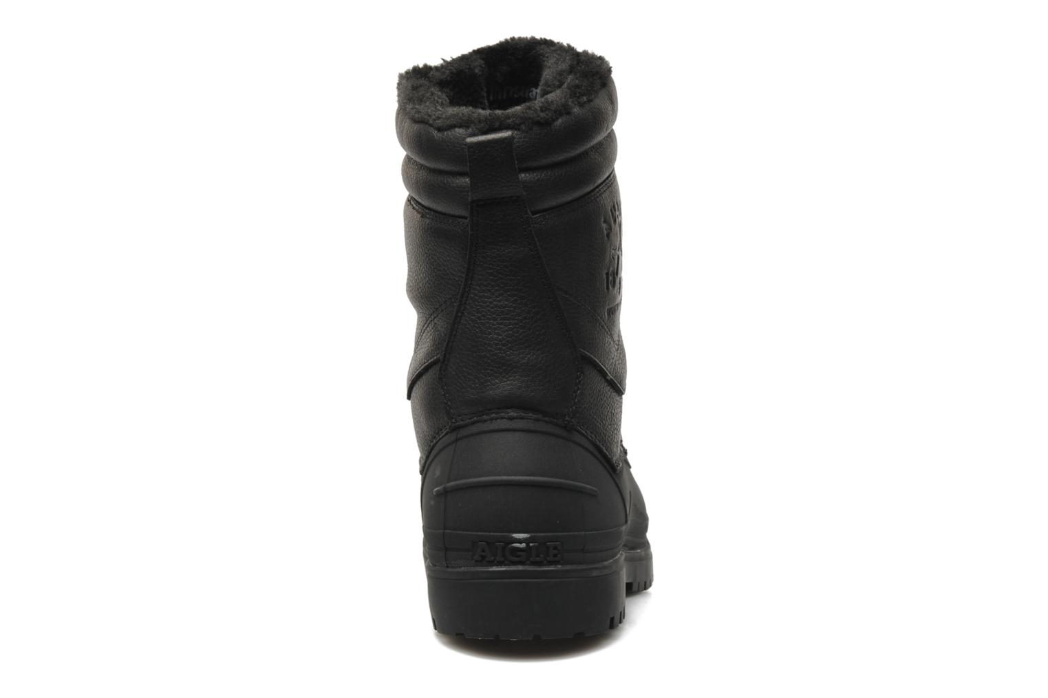 Ankle boots Aigle Harward Black view from the right