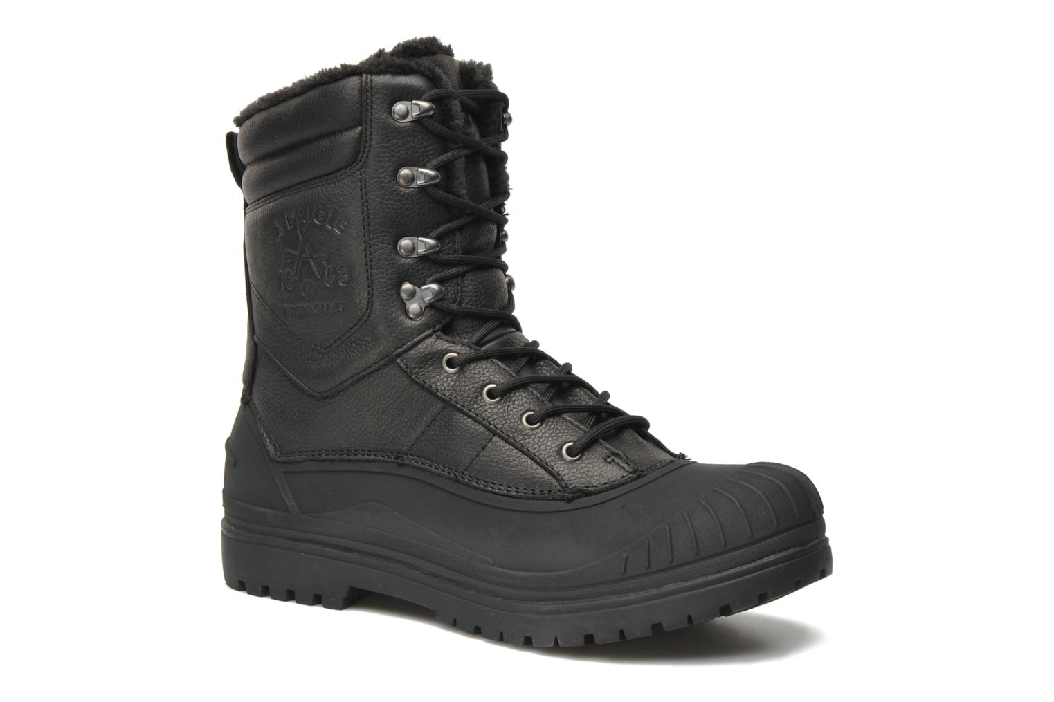 Ankle boots Aigle Harward Black detailed view/ Pair view